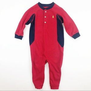 Ralph Lauren One Piece Thermal Outfit 12 mo